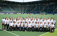 THE HAGUE - Hockey-  Group. groepsfoto TD; FIH  RABOBANK HOCKEY WORLD CUP 2014 . PHOTO KOEN SUYK