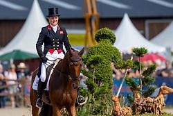 Cook Kristina, GBR, Billy the Red<br /> European Championship Eventing<br /> Luhmuhlen 2019<br /> © Hippo Foto - Dirk Caremans