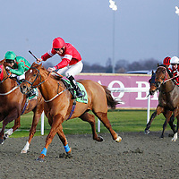 Indus Valley and Shane Kelly winning the 4.25 race