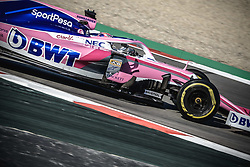 February 18, 2019 - Barcelona, Catalonia, Spain - SERGIO PEREZ (MEX) from team Racing Point drives in his in his RP19 during day one of the Formula One winter testing at Circuit de Catalunya (Credit Image: © Matthias OesterleZUMA Wire)