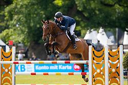 RICKEN Lutz (GER), Hof Schretstakens The Rock<br /> Hamburg - 90. Deutsches Spring- und Dressur Derby 2019<br /> SPOOKS-Amateur Trophy<br /> 02. Juni 2019<br /> © www.sportfotos-lafrentz.de/Stefan Lafrentz