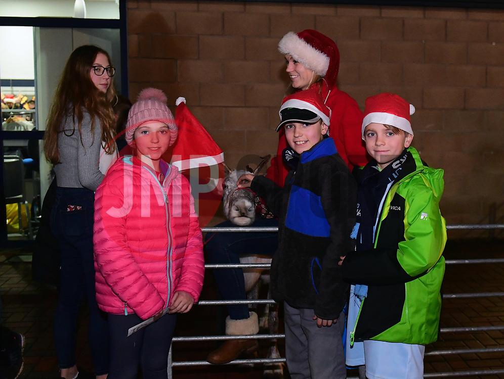 Fans looks at reindeer - Mandatory by-line: Alex Davidson/JMP - 22/12/2017 - RUGBY - Sixways Stadium - Worcester, England - Worcester Warriors v London Irish - Aviva Premiership