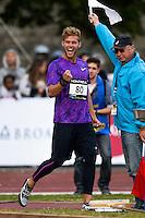 Joie Kevin Mayer - Poids - 09.06.2015 - Meeting de Montreuil<br />Photo : Andre Ferreira / Icon Sport