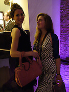 """SOPHIE BOWER AND ANTONIA LLOYD.  The after show party following the UK Premiere of """"Match Point,"""" at Asprey, New Bond st. London.   December 18 2005 ,  ONE TIME USE ONLY - DO NOT ARCHIVE  © Copyright Photograph by Dafydd Jones 66 Stockwell Park Rd. London SW9 0DA Tel 020 7733 0108 www.dafjones.com"""