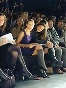 Sarah Jessica Parker<br />Oscar de la Renta. Bryant Park, New York. 8/2/2000<br />© Copyright Photograph by Dafydd Jones 66 Stockwell Park Rd. London SW9 0DA Tel 0171 733 0108 www.dafjones.com