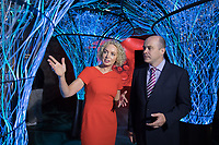 **Embargo until 00.01am 31st August 2017**<br /> No repro fee<br /> 30-8-2017<br /> Pictured at the launch of Ireland&rsquo;s first narrowband IOT (NBIOT) network by Vodafone Ireland was Minister for Communications, Climate Action and Environment, Denis Naughten TD and Anne O&rsquo;Leary, CEO, Vodafone. Vodafone Ireland is the first Irish operator to offer a nationwide commercial narrowband NB-IoT network.Pic:Naoise Culhane-no fee<br /> NB-IoT is a low power wide area network and is designed to wirelessly connect millions of devices that have low bandwidth requirements and&nbsp; will provide a head start to Irish businesses and consumers in their race to become truly smart and efficient, radically saving time and money. As the first Irish operator to bring this technology to market, Vodafone is on course to help transform Ireland into a &lsquo;smart nation&rsquo;. The launch took place today, Thursday 31st at EPIC Museum in Custom House Quarter, Ireland&rsquo;s only fully digital visitor attraction.<br /> Pic:Naoise Culhane-no fee