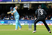 Jonny Bairstow of England batting during the ICC Cricket World Cup 2019 Final match between New Zealand and England at Lord's Cricket Ground, St John's Wood, United Kingdom on 14 July 2019.
