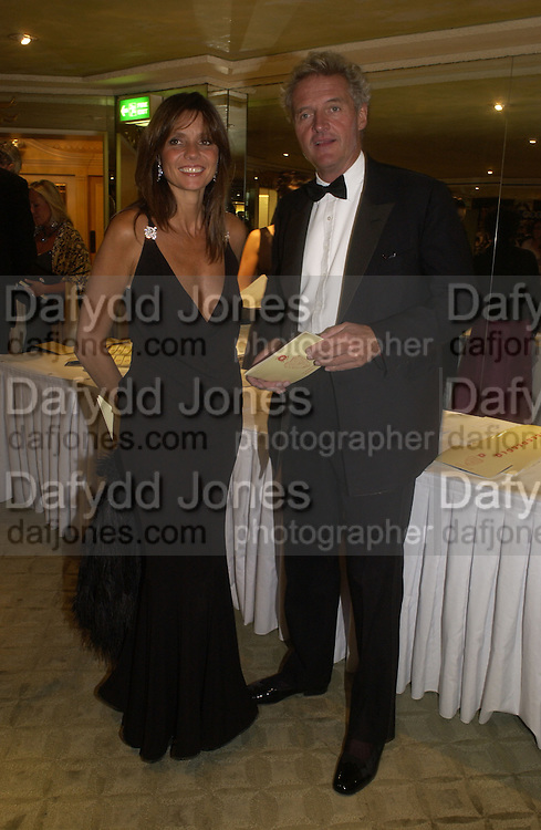 Count Leopold and Countess Debonaire von Bismarck. Chain of Hope 10 th Ball. Dorchester. London. 1 November  2005. ONE TIME USE ONLY - DO NOT ARCHIVE © Copyright Photograph by Dafydd Jones 66 Stockwell Park Rd. London SW9 0DA Tel 020 7733 0108 www.dafjones.com