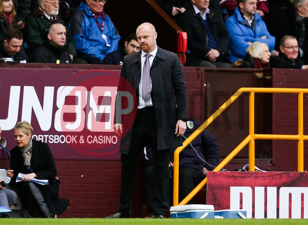 Burnley Manager Sean Dyche  - Photo mandatory by-line: Matt McNulty/JMP - Mobile: 07966 386802 - 28/02/2015 - SPORT - Football - Burnley - Turf Moor - Burnley v Swansea City - Barclays Premier League