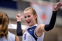 18-02-2017 NED:  Halve Finale NJOK, Houten<br /> In sporthal de kruisboog worden de wedstrijden gespeeld door CMV meisjes en jongens / Sliedrecht Sport