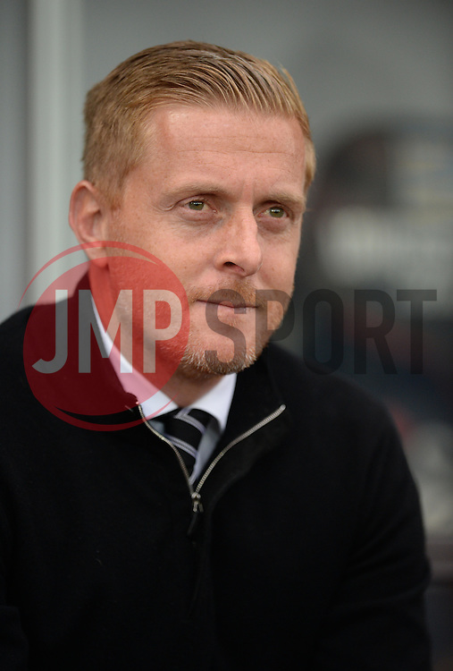 Swansea City Manager Garry Monk - Mandatory byline: Alex James/JMP - 07966 386802 - 04/10/2015 - FOOTBALL - Liberty stadium - Swansea, England - Swansea City  v Tottenham hotspur - Barclays Premier League