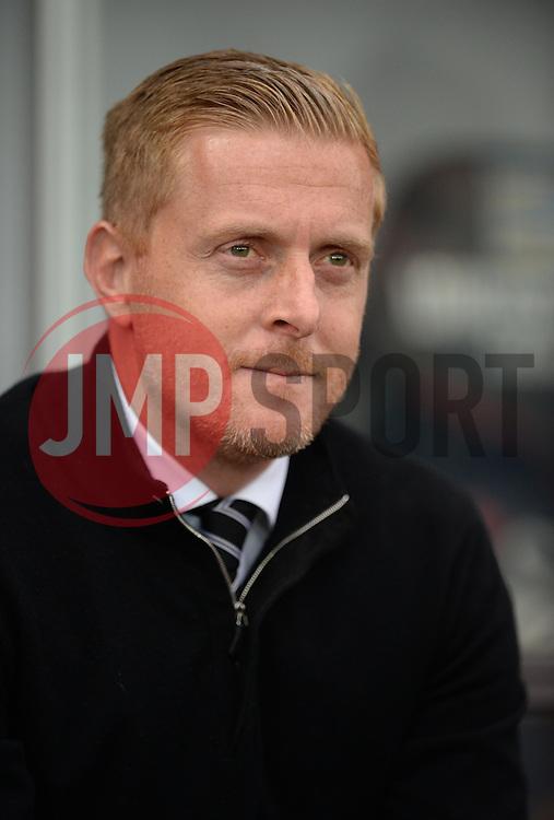 Swansea City Manager Garry Monk - Mandatory byline: Alex James/JMP - 07966 386802 - 04/10/2015 - FOOTBALL - Liberty stadium - Swansea, England - Swansea City  v Tottenham hotspur - Barclays Premier League