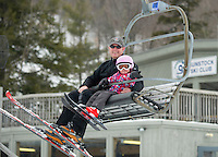 Gunstock Ski Club's Skills Quest for U8 and U10 athletes.  ©2014 Karen Bobotas Photographer