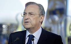 Real Madrid's president Flrentino Perez during Raul's farewell act. EXPA Pictures © 2010, PhotoCredit: EXPA/ Alterphotos/ Alvaro Hernandez +++++ ATTENTION - SPAIN OUT +++++ / SPORTIDA PHOTO AGENCY