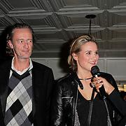 NLD/Amsterdam/20120201 - Lancering LG Prada, Carli Hermes, Lieke van Lexmond