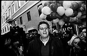 Giovanni Toti (Forza Italia party) during demonstration 'Italia sovrana', (Italy Sovereign) on January 28, 2017 in Rome, Italy, Rome 28 January 2017 . Christian Mantuano / OneShot