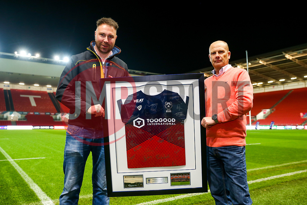 Sponsors - Rogan/JMP - 02/11/2018 - RUGBY UNION - Ashton Gate Stadium - Bristol, England - Bristol Bears v Gloucester Rugby - Premiership Rugby Cup.