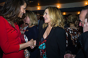 OLIVIA COLE; KIM CATTRALL; , Spectator Life - 3rd birthday party. Belgraves Hotel, 20 Chesham Place, London, SW1X 8HQ, 31 March 2015
