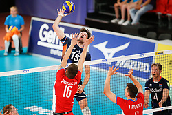 20170617 NED: FIVB Volleybal World League 2017 The Netherlands - Slovakia: Den Haag <br />Thomas Koelewijn (15) of The Netherlands <br />©2017-FotoHoogendoorn.nl / Pim Waslander