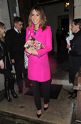 Alex Jones attends the InStyle's The Best Of British Talent Pre-BAFTA Party in London, UK. 04/02/2014<br />BYLINE MUST READ : GOTCHAIMAGES.COM<br /><br />Copyright by © Gotcha Images Ltd. All rights reserved.<br />Usage of this image is conditional upon the acceptance <br />of Gotcha Images Ltd, terms and conditions available at<br />www.gotchaimages.com