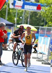 03.07.2011, Strandbad, Klagenfurt, AUT, Austria Ironman 2011, im Bild Marino Vanhoenacker, BEL, EXPA Pictures © 2011, PhotoCredit: EXPA/ M. Kuhnke