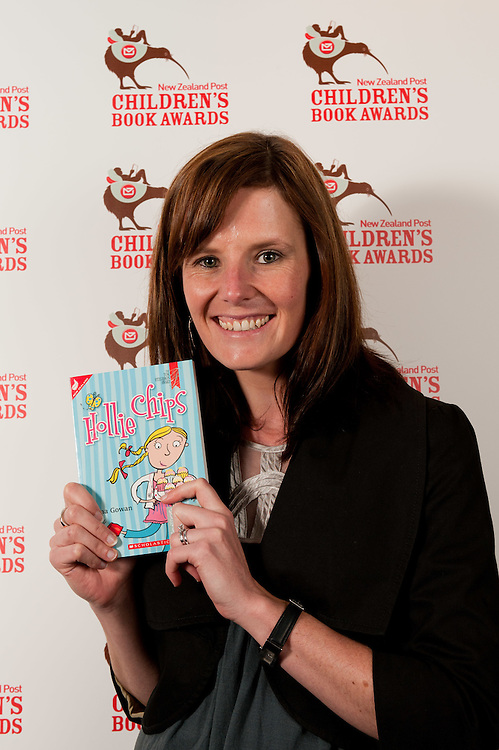 "Anna Gowan, Author of ""Hollie Chips"" 2011 New Zealand Post Children's Book Awards...Wednesday May 18, 2011 Auckland Convention Centre, 50 Mayoral Drive, Auckland CBD 1010...Photo by Mark Tantrum 