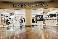 Debenhams store at Mall of the Emirates shopping centre in Dubai United Arab Emirates