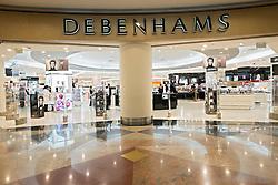 Debenhams store at Mall of the Emirates shopping centre in Dubai United Arab Emirates