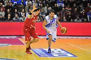 DESCRIZIONE : Campionato 2013/14 Dinamo Banco di Sardegna Sassari - Victoria Libertas Pesaro<br /> GIOCATORE : Massimo Chessa<br /> CATEGORIA : Palleggio Contropiede<br /> SQUADRA : Dinamo Banco di Sardegna Sassari<br /> EVENTO : LegaBasket Serie A Beko 2013/2014<br /> GARA : Dinamo Banco di Sardegna Sassari - Victoria Libertas Pesaro<br /> DATA : 02/03/2014<br /> SPORT : Pallacanestro <br /> AUTORE : Agenzia Ciamillo-Castoria / Luigi Canu<br /> Galleria : LegaBasket Serie A Beko 2013/2014<br /> Fotonotizia : Campionato 2013/14 Dinamo Banco di Sardegna Sassari - Victoria Libertas Pesaro<br /> Predefinita :