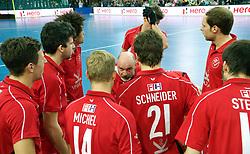 LEIZPIG - WC HOCKEY INDOOR 2015<br /> GER v SUI (QF 1)<br /> Foto: Swiss Team<br /> FFU PRESS AGENCY COPYRIGHT FRANK UIJLENBROEK