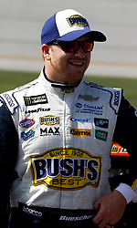 October 14, 2018 - Talladega, AL, U.S. - TALLADEGA, AL - OCTOBER 14: #37: Chris Buescher, JTG Daugherty Racing, Chevrolet Camaro Bush's Chili Beans during the runinng of the 1000Bulbs.com500 on Sunday October 14, 2018 at Talladega SuperSpeedway in Talladega Alabama (Photo by Jeff Robinson/Icon Sportswire) (Credit Image: © Jeff Robinson/Icon SMI via ZUMA Press)