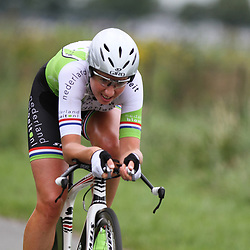 Loes Gunnewijk 3th place Dutch Time trail championship