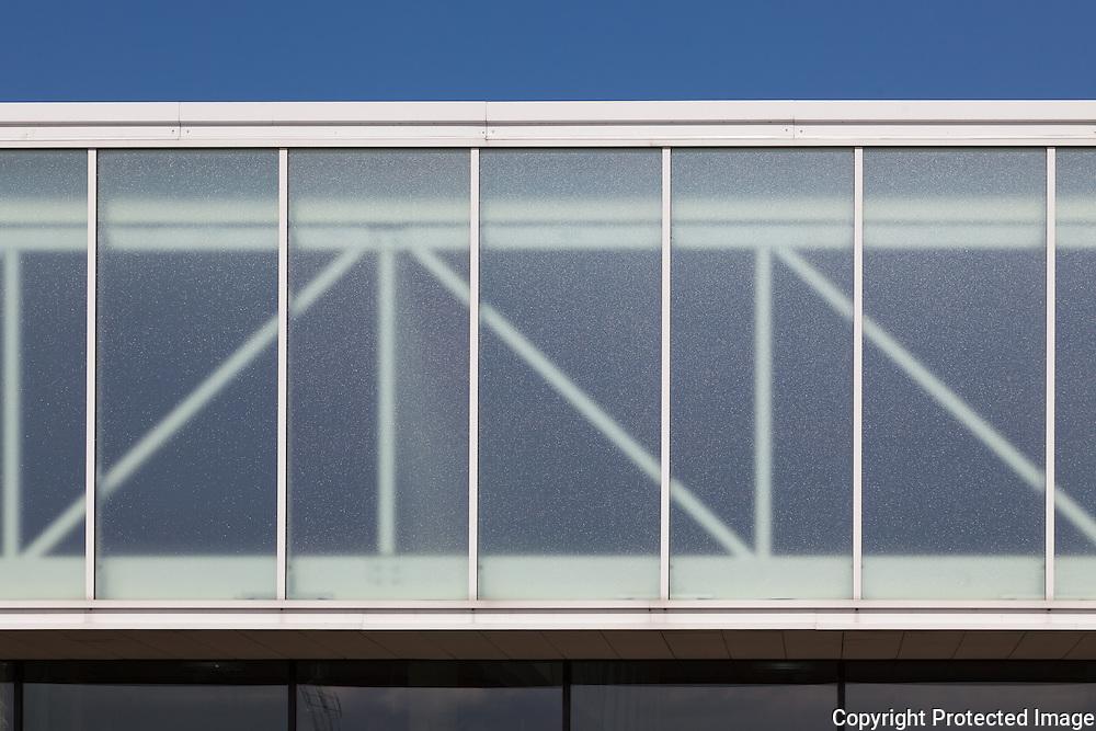 Bellahøj Swimming Stadium (Bellahøj Svømmestadion) Copenhagen, Denmark. Architect: Arkitema A/S. Engineer: Søren Jensen. Built: 2009