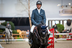 Wathelet Gregory, BEL, Iron Man vd Padenborre<br /> Indoor Brabant 2018<br /> © Sharon Vandeput<br /> 11/03/18