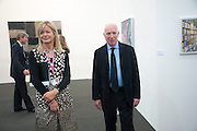 LADY HELEN TAYLOR; BARRY TOWNSLEY, Opening of Frieze 2009. Regent's Park. London. 14 October 2009 *** Local Caption *** -DO NOT ARCHIVE-© Copyright Photograph by Dafydd Jones. 248 Clapham Rd. London SW9 0PZ. Tel 0207 820 0771. www.dafjones.com.<br /> LADY HELEN TAYLOR; BARRY TOWNSLEY, Opening of Frieze 2009. Regent's Park. London. 14 October 2009