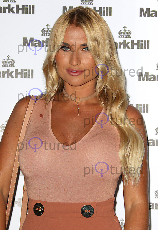 Billie Faiers, Mark Hill - Pick 'N' Mix Party, The Ice Tank, London UK, 27 July 2016, Photo by Brett D. Cove