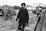 Jay, at Glastonbury, 1989.