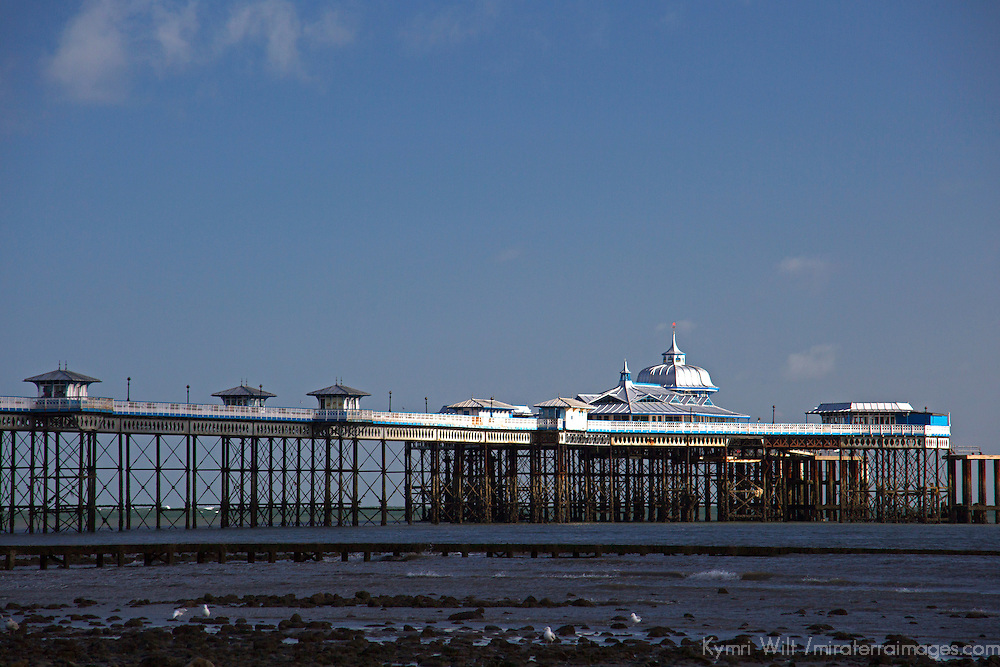 Europe, United Kingdom, Wales, Llandudno. Llandudno Pier.