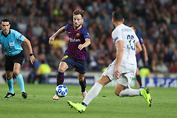 October 24, 2018 - Barcelona, Spain - Barcelona, Spain, October 24, 2018: Ivan Rakitic of FC Barcelona in action during the UEFA Champions League, Group B football match between FC Barcelona and FC Internazionale on October 24, 2018 at Camp Nou stadium in Barcelona, Spain (Credit Image: © Manuel Blondeau via ZUMA Wire)