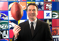 John Collins, Senior Vice President of marketing and sales at the NFL.<br /> Photo by Gabe Palacio