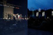 Meeting de l'entre deux tour de Philippe Lottiaux candidat RBM Front National  dans la ville d'Avignon pour les élections municipales 2014
