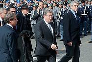2013/03/23 Roma, funerali del Capo della Polizia. Nella foto Domenico Procaccini.<br /> Rome, Chief of Police funerals. In the picture Domenico Procaccini - &copy; PIERPAOLO SCAVUZZO
