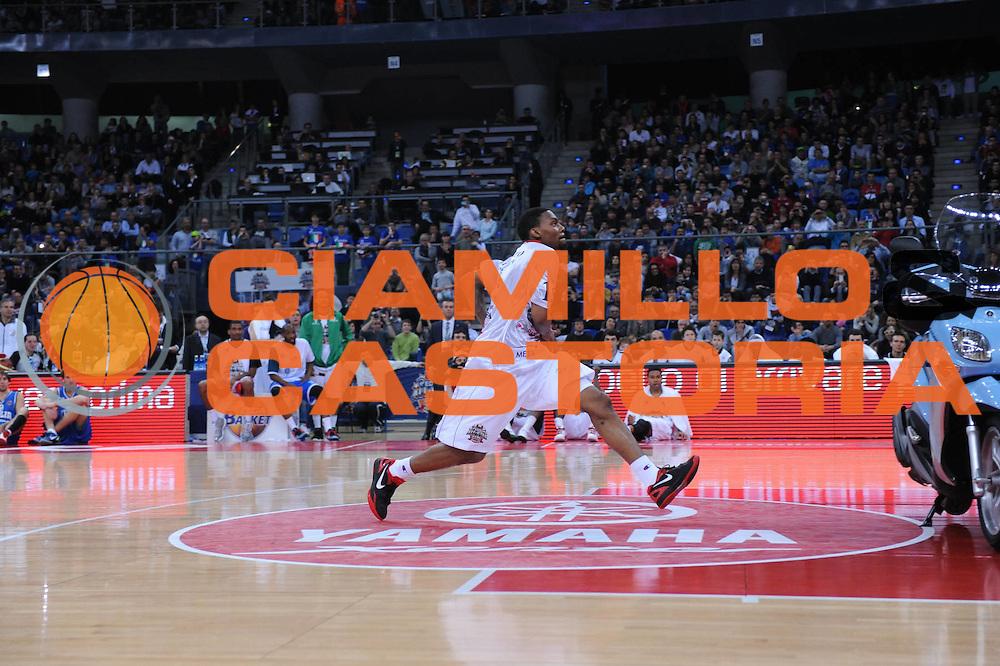 DESCRIZIONE : Pesaro Edison All Star Game 2012<br /> GIOCATORE : Aubrey Coleman<br /> CATEGORIA : slam dunk contest gara delle schiacciate<br /> SQUADRA : All Star Team<br /> EVENTO : All Star Game 2012<br /> GARA : Italia All Star Team<br /> DATA : 11/03/2012 <br /> SPORT : Pallacanestro<br /> AUTORE : Agenzia Ciamillo-Castoria/M.Marchi<br /> Galleria : FIP Nazionali 2012<br /> Fotonotizia : Pesaro Edison All Star Game 2012<br /> Predefinita :