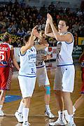 DESCRIZIONE : Venezia Additional Qualification Round Eurobasket Women 2009 Italia Croazia<br /> GIOCATORE : Sottana Giauro<br /> SQUADRA : Nazionale Italia Donne<br /> EVENTO : Italia Croazia<br /> GARA :<br /> DATA : 10/01/2009<br /> CATEGORIA : Esultanza<br /> SPORT : Pallacanestro<br /> AUTORE : Agenzia Ciamillo-Castoria/M.Gregolin