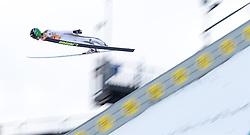 01.01.2016, Olympiaschanze, Garmisch Partenkirchen, GER, FIS Weltcup Ski Sprung, Vierschanzentournee, Bewerb, im Bild Peter Prevc (SLO, 1.Platz) // 1st placed Peter Prevc of Slovenia during his Competition Jump of Four Hills Tournament of FIS Ski Jumping World Cup at the Olympiaschanze, Garmisch Partenkirchen, Germany on 2016/01/01. EXPA Pictures © 2016, PhotoCredit: EXPA/ Jakob Gruber