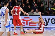 DESCRIZIONE : Campionato 2014/15 Dinamo Banco di Sardegna Sassari - Giorgio Tesi Group Pistoia<br /> GIOCATORE : Valerio Amoroso Ariel Filloy<br /> CATEGORIA : Fair Play Controcampo<br /> SQUADRA : Giorgio Tesi Group Pistoia<br /> EVENTO : LegaBasket Serie A Beko 2014/2015<br /> GARA : Dinamo Banco di Sardegna Sassari - Giorgio Tesi Group Pistoia<br /> DATA : 01/02/2015<br /> SPORT : Pallacanestro <br /> AUTORE : Agenzia Ciamillo-Castoria / Luigi Canu<br /> Galleria : LegaBasket Serie A Beko 2014/2015<br /> Fotonotizia : Campionato 2014/15 Dinamo Banco di Sardegna Sassari - Giorgio Tesi Group Pistoia<br /> Predefinita :