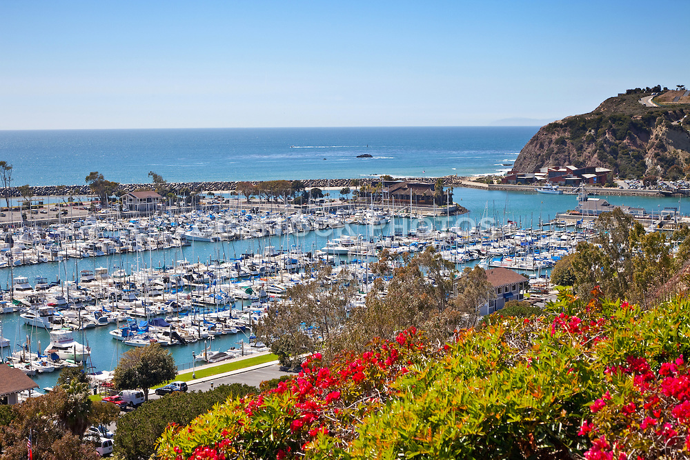 Dana Point Harbor View From Bluff Top