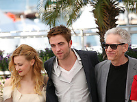 Cosmopolis photocall at the 65th Cannes Film Festival France. Cosmopolis is directed by David Cronenberg and based on the book by writer Don Dellilo.  Friday 25th May 2012 in Cannes Film Festival, France.
