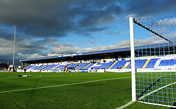 Swansway Chester Stadium - Photo mandatory by-line: Neil Brookman/JMP - Mobile: 07966 386802 - 22/11/2014 - Sport - Football - Chester - Deva Stadium - Chester v Bristol Rovers - Vanarama Football Conference