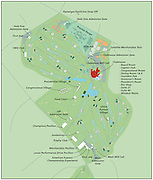 Congressional  golf course map USGA 2011 US Open. The Congressional Country Club is a country club and golf course in Bethesda, Maryland, USA